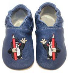 baBice papuče za djecu s Krtekom, tamno plava
