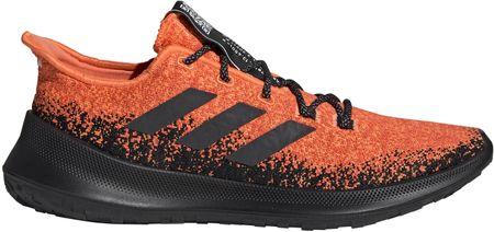 Adidas Sensebounce + M/Hireco/Cblack/Actora muške cipele za trčanje, narančasto-crne, 42