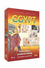 Kolekce Egypt: Nové objevy, pradávné záhady (3DVD) - DVD