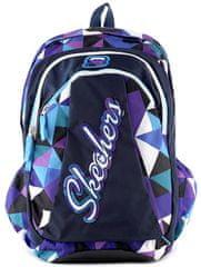 Target Skechers šolska torba, modro-vijolična