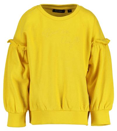 Blue Seven majica za djevojčice, žuta, 128