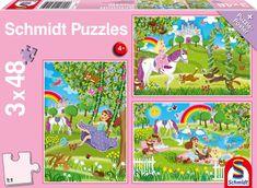 Schmidt 3 Jigsaw Puzzles - Princess