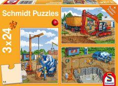 Schmidt 3 Puzzles - The Construction Site