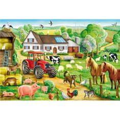 Schmidt Puzzle 100 db Jigsaw Puzzle - 100 Pieces - Happy Farm
