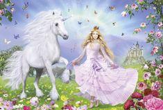 Schmidt Puzzle 100 db Jigsaw Puzzle - 100 Pieces - Unicorn Princess