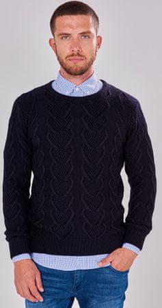 Jimmy Sanders moški pulover 18S KM5053, XXL, temno moder