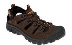 Bennon Kožené outdoorové sandály Medison hnědá 38