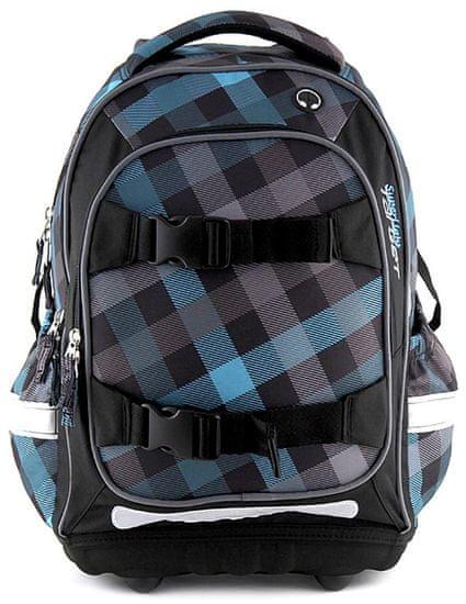 Target Školní batoh modré kostky