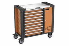 CORONA Montážní vozík na nářadí, 10 zásuvek, 386 ks (C1286)