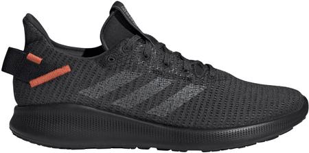 Adidas Sensebounce + Street M/Gresix/Grethr/Actora moški tekaški čevlji, črni, 44,7