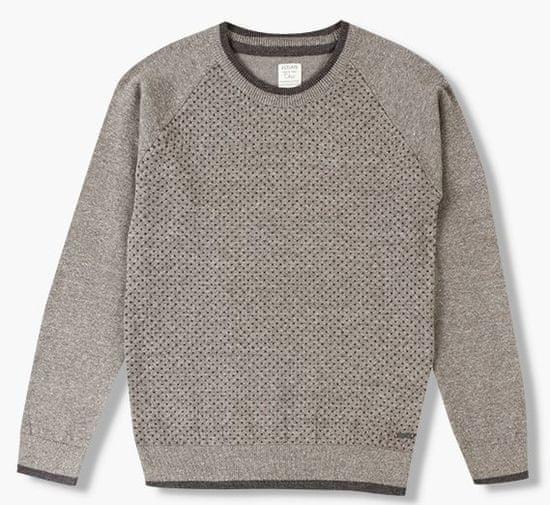 Losan chlapecký svetr 140 šedá