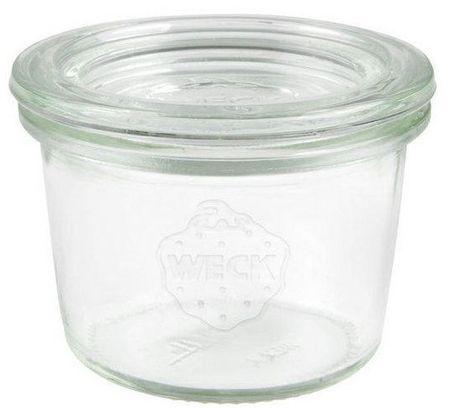 Weck Mini-Sturz kozarec za vlaganje, 80 ml, premer 60 mm
