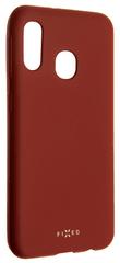 Fixed Zadní pogumovaný kryt Story pro Samsung Galaxy A20e, červený FIXST-399-RD