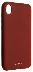 Fixed Zadní pogumovaný kryt Story pro Huawei Y5 (2019), červený FIXST-408-RD