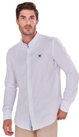 AUDEN CAVILL pánská košile AC18F SHM3008 M bílá