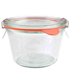Weck Zavařovací sklenice Weck Sturz 370 ml, průměr 100