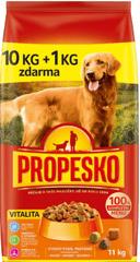 Propesko hrana za odrasle pse Vitality, 10 + 1 kg