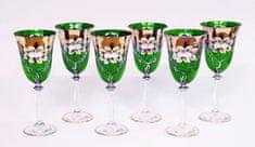 Bohemia Glass Bohemia Glass Sklenice na víno 250 ml - Čirá