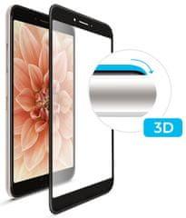 Fixed Ochranné tvrdené sklo 3D Full-Cover pre Huawei P30 Lite, s lepením cez celý displej, čierne FIXG3D-383-BK