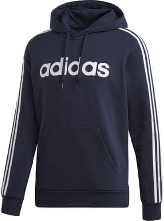 Adidas E 3S Po Fl/Legink/White M moški pulover, črn, L