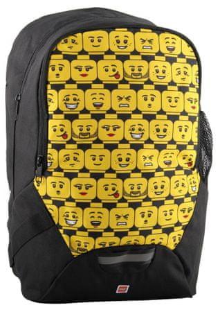 LEGO Minifigures Heads - školský batoh