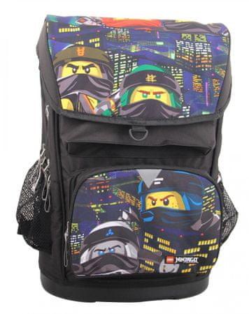 LEGO Ninjago Urban Maxi školska torba, 2-dijelni komplet