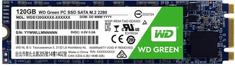 Western Digital WD SSD Green 3D NAND, M.2 -120GB WDS120G2G0B