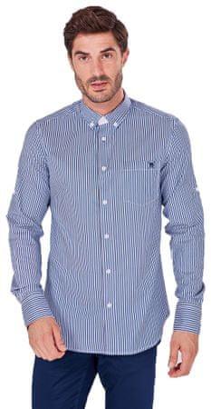 AUDEN CAVILL moška srajca AC18F SHM3009, M, modra