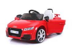 Beneo Elektrické autíčko Audi TT RS, 12V, 2,4 GHz dialkové ovládanie, otváravé dvere, EVA kolesá, kožené s