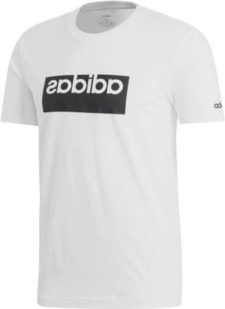 Adidas M Box Grfx T 1/White/White moška majica s kratkimi rokavi, bela, L