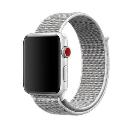 eses športni pašček za apple watch 1530000029, najlon, 42 mm, črn/zelen