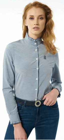 Jimmy Sanders dámska košeľa 19S SHW4022 S modrá