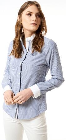 Jimmy Sanders ženska srajca 19S SHW4024, S, modra