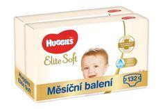 Huggies Elite Soft 4 pelene (8-14 kg) 132 komada (2x66 komada) - Mjesečno pakiranje