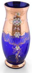 Bohemia Glass Bohemia Glass Váza Pytel - Modrá