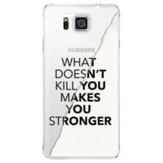 iSaprio Plastový kryt s motivem Makes You Stronger