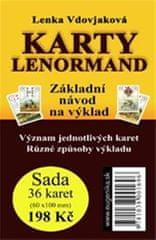 Vdovjaková Lenka: Karty Lenormand - Základní návod na výklad