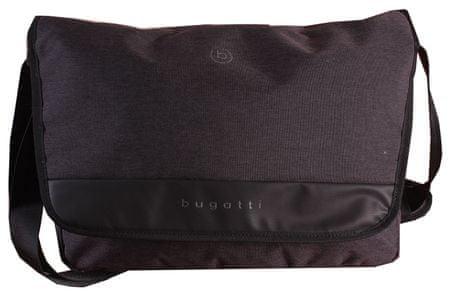 Bugatti Moška torba za prenosnik Universum 49393201 Črna