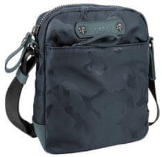 BUGATTI Pánska crossbody taška Camo 49380023 Navy