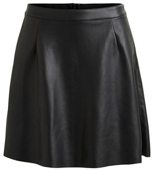 VILA Dámska sukňa Vipen Skater Skirt Noos Black (Veľkosť S)