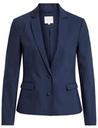VILA Dámske sako Adelia New Blazer-Noos Navy Blazer (Veľkosť 34)