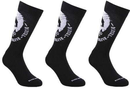 Diesel férfi zokni Ray_1 35 - 38 fekete