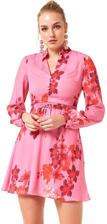 Jimmy Sanders ženska obleka 19W DRW42038, S, roza