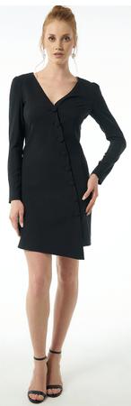 Jimmy Sanders sukienka damska 19W DRW42052 S czarny