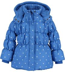 Blue Seven lány pöttyös kabát