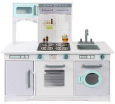 Bayer Chic Dřevěná kuchyňka zelenobílá