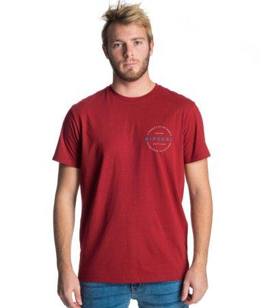 Rip Curl koszulka męska Authentic S/S Tee XXL czerwona