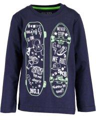 Blue Seven fantovski pulover z rolami