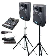 DEXON  2x BC 1000A + MBD 830 + MD 505 + DMC 2220 ozvučovacia zostava s mikrofónmi