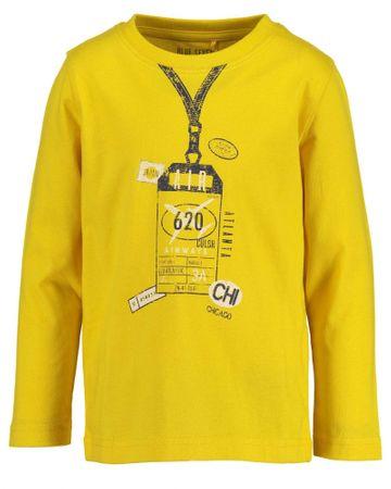 Blue Seven chlapčenské tričko 92 žltá